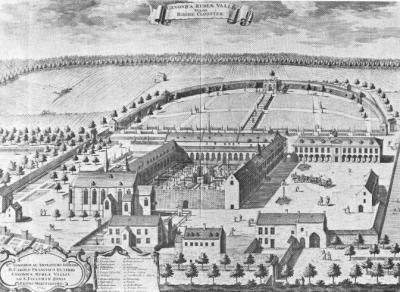 Rooklooster (Sanderus, Chorographia 2. Hagae Comitae, 1727)